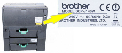 modelo del dispositivo brother para actualizar drivers