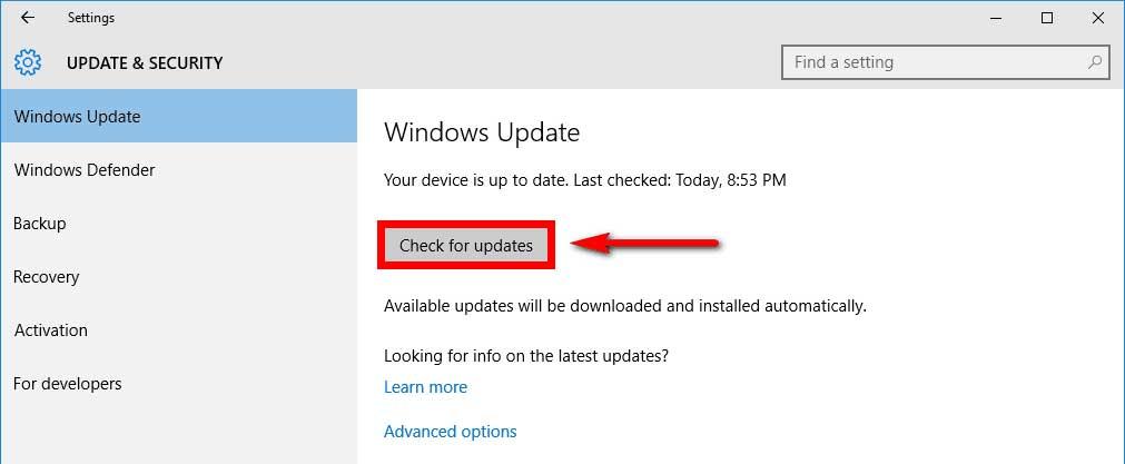 confirmar actualizar drivers en windows